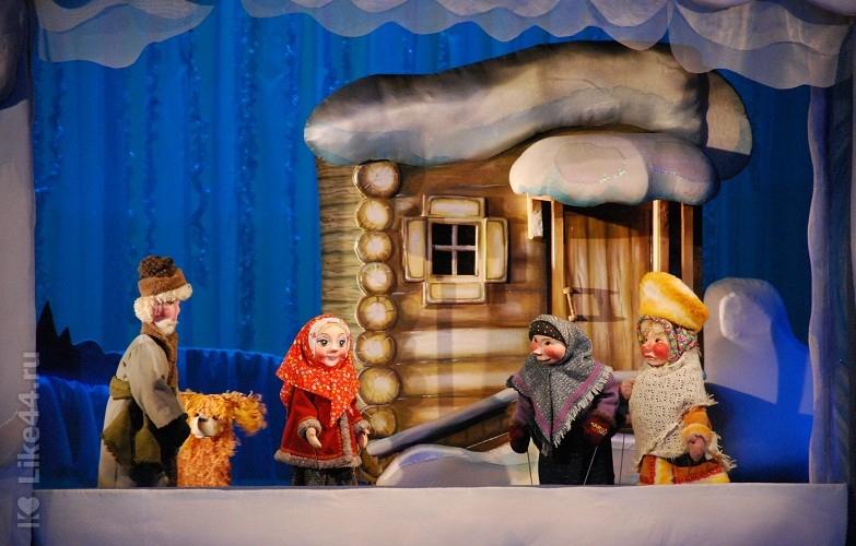 Проект кукольный театр видео