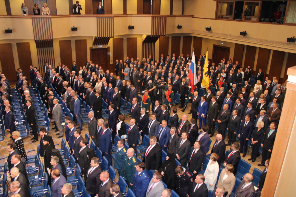 Миронов вступил вдолжность губернатора Ярославской области