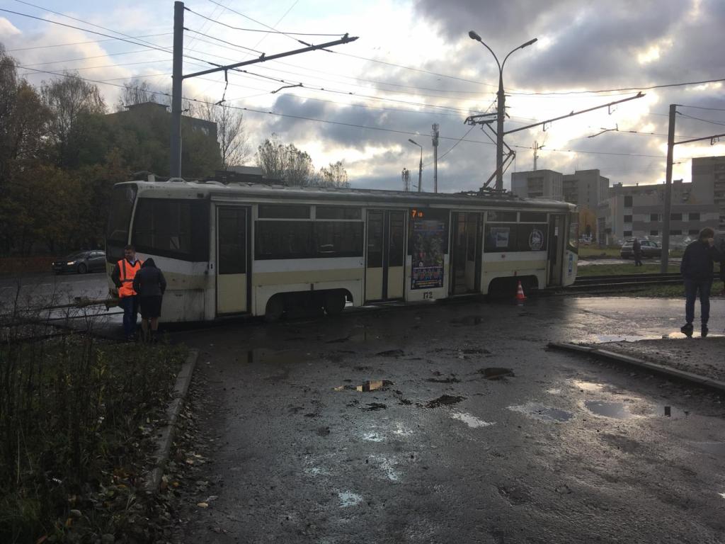 Школьница внаушниках угодила под трамвай вЯрославле