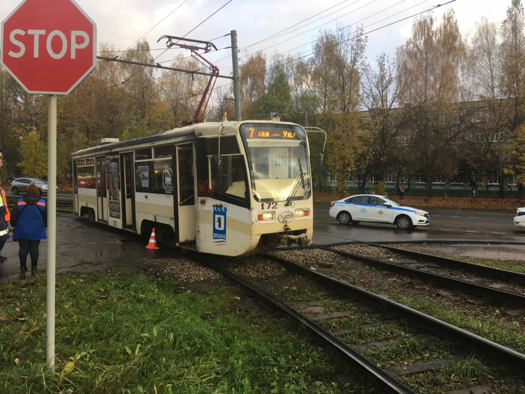 ВЯрославле трамвай наехал на14-летнюю школьницу внаушниках