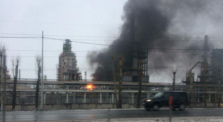 пожар на нефтезаводе в ярославле офиса, торгового