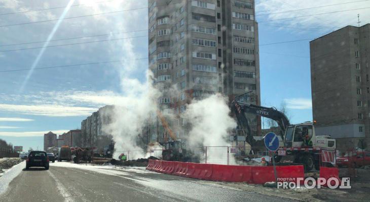 Тепло в дома ярославцев дадут позже, чем обещали: видео