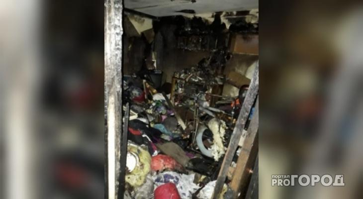 Крупный пожар в Ярославле: пятьдесят человек ночевали на улице
