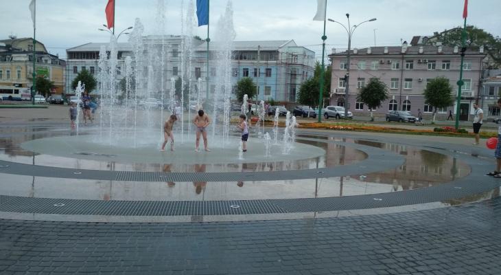 Сломался главный фонтан Ярославля: ответ мэрии