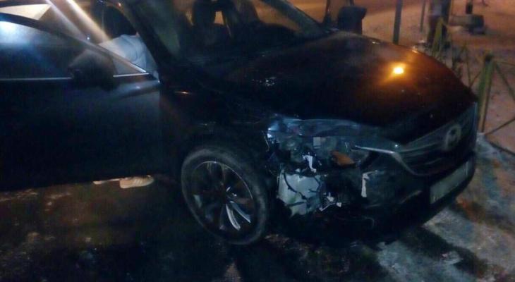 В погоне под Ярославлем пострадал сотрудник вневедомственной охраны