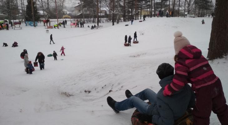 """Опасные """"ватрушки"""": катание с горок зимой закончилось больницей для ярославцев"""