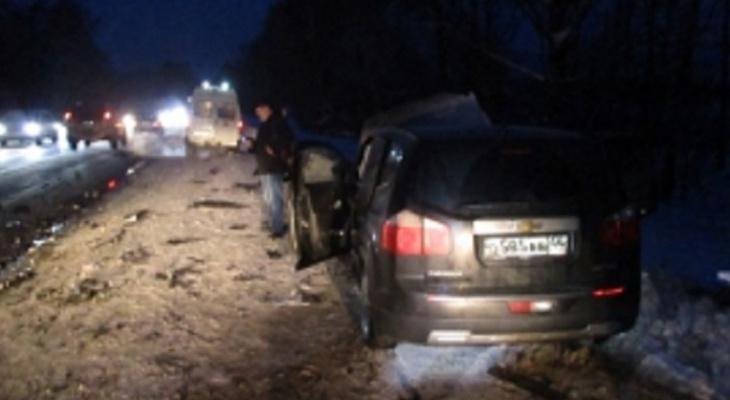 Обломки кузова и слезы: семь человек пострадали в ДТП в Ярославской области