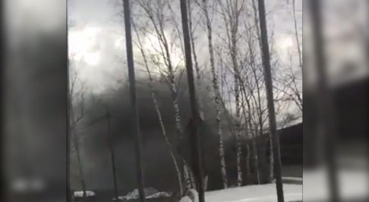 Сирены и черный дым: спасатели рассказали о ЧП в Ярославле