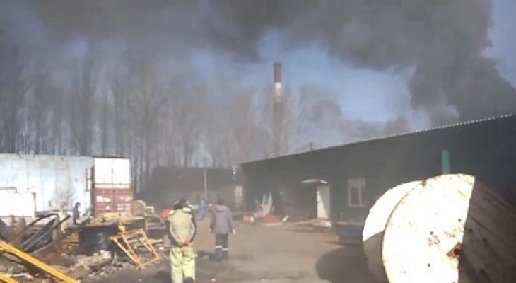 Рабочий погиб в огне: подробности трагедии на Московском проспекте