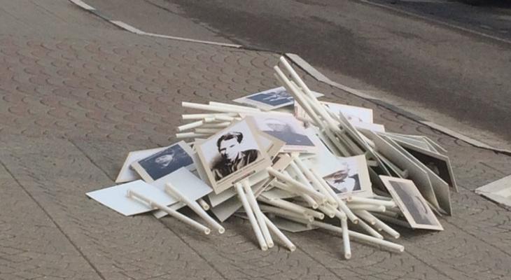 Грязными тапками по лицам героев: ярославцы рассказали о провокации после Дня Победы