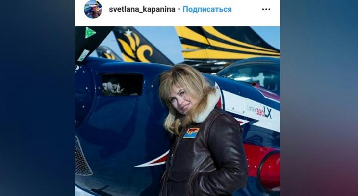 Летела вверх ногами: сексапильная пилот сняла на видео полет над Ярославлем