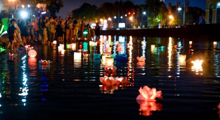 Фестиваль водных фонариков пройдет в Ярославле 25 мая