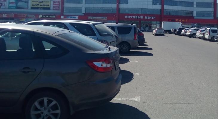 Мину у торгового центра нашли ярославцы: фото с места