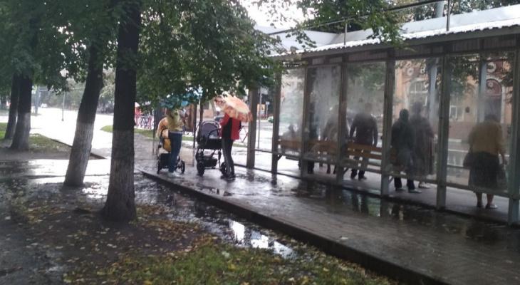 """Волна опасных дождей идет на Ярославль: объявлен """"желтый уровень"""" опасности"""