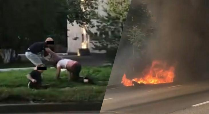 """""""В панике его вырвало"""": квадроцикл загорелся под водителем в Рыбинске"""