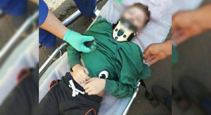 Ребенок в реанимации: на Пятерке иномарка сбила мальчика