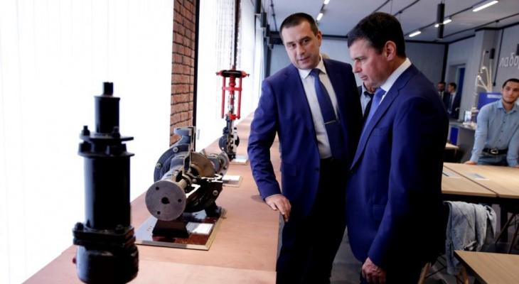 Дмитрий Миронов поучаствовал в открытии инновационного образовательного центра на базе Технического университета