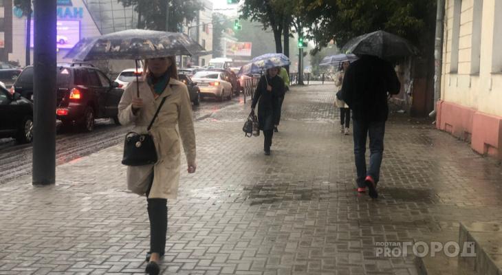 Половина нормы за день: сильные дожди обрушатся на Ярославль