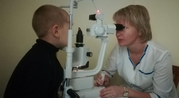 """Правительство: """"Новое офтальмологическое оборудование установили в детской поликлинике №3"""""""