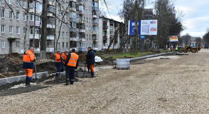 В снег пробки станут 10-бальными: когда открытие Тутаевского шоссе, рассказали ярославцам