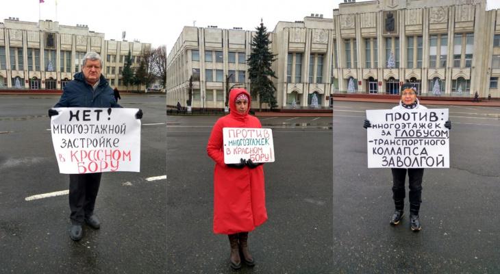 Заволжане бунтуют против новой застройки района: ответ губернатора