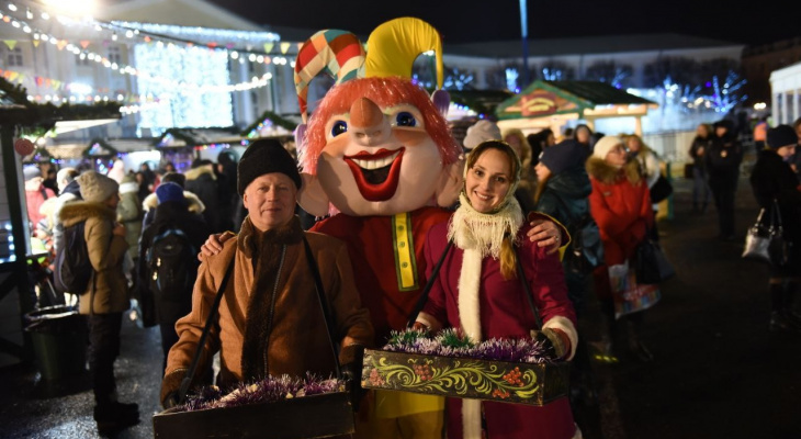 Полная программа новогодних гуляний в Ярославле