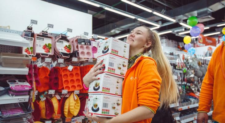 Открытие «Галамарта» в Ярославле: электрический чайник – всего за 199 рублей!