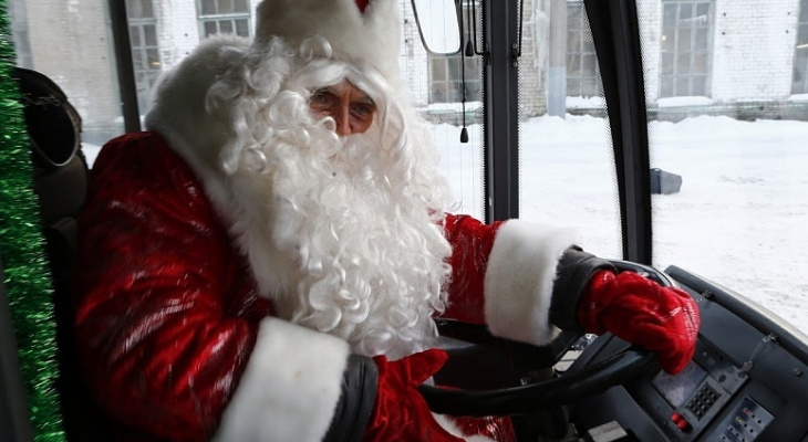 Стало известно, как будет ходить транспорт в новогоднюю ночь в Ярославле