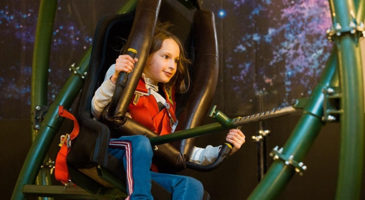 Впервые в Ярославле Грандиозный тур роботов и  космических технологий «Вперёд в космос».
