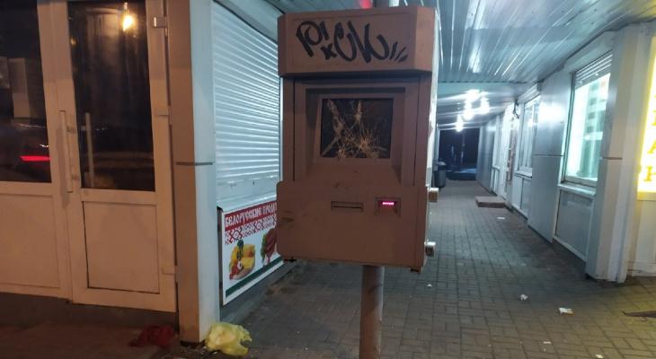 Рыдайте, бабушки: ярославцы жестоко разгромили остановку в Брагино. Фото