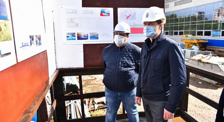 Новый бассейн появится в Брагино: когда открытие