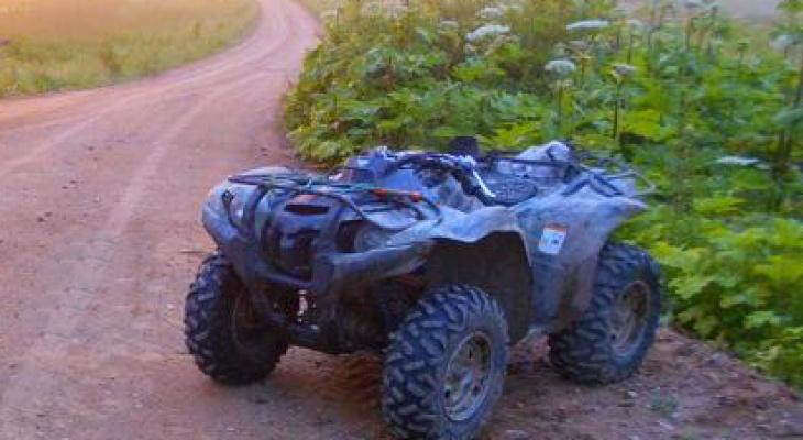 Смертельный кульбит: ярославец на квадроцикле погиб в ДТП