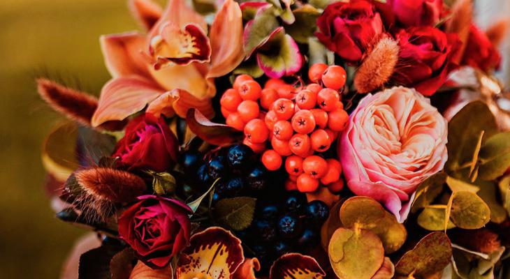 """""""Лиловый, золотой, багряный"""" – какие цветы дарить осенью?"""