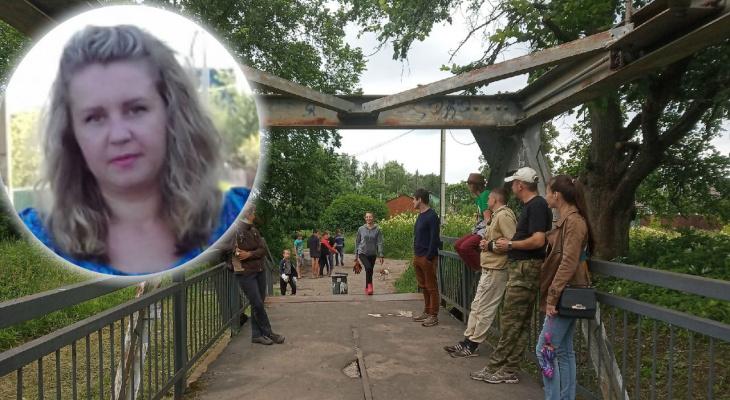 Разодранные в кровь ноги и крики ребенка: ярославна рассказала о ЧП на аварийном мосту под Ярославлем