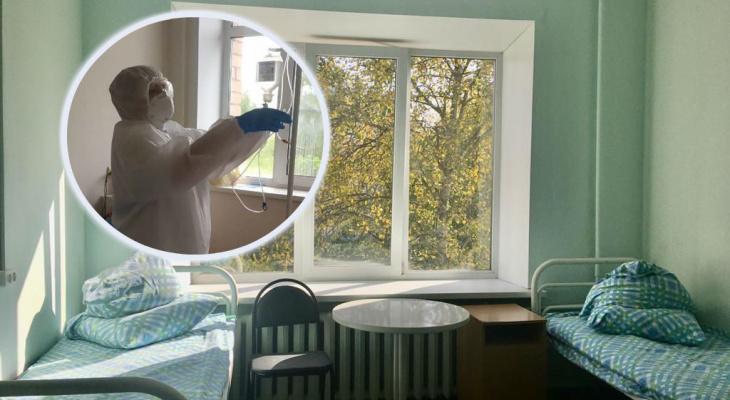 Больницы Ярославля экстренно готовят к приему ковидных пациентов: где выделили места