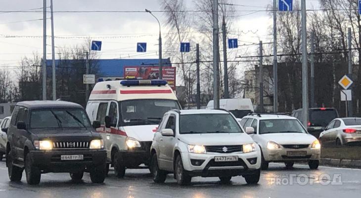 Травма головы и детский плач: в Ярославле иномарка сбила восьмилетнего мальчика