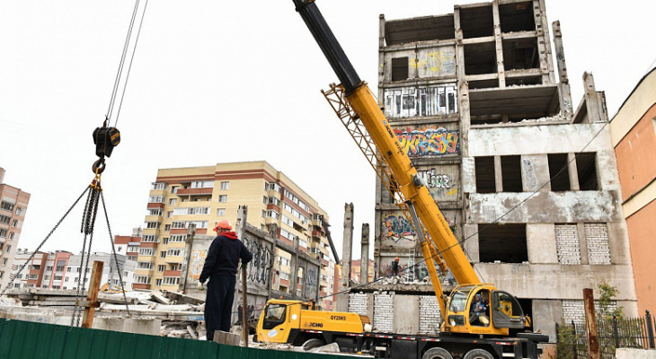 Недострои отбирают у хозяев и продают через суд в Ярославской области