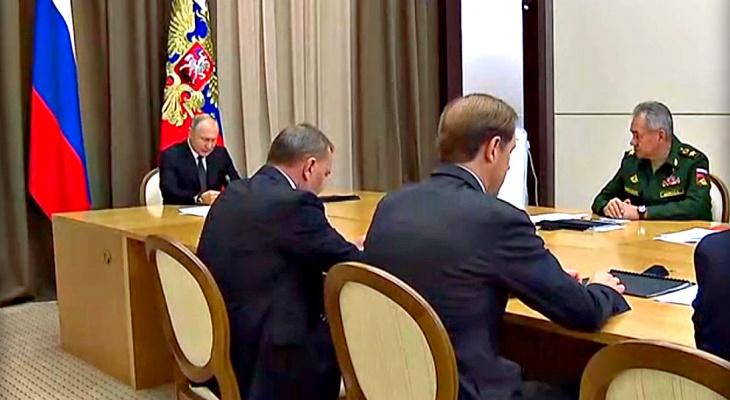 """Путин шутит: президент страны """"напугал"""" министра обороны"""