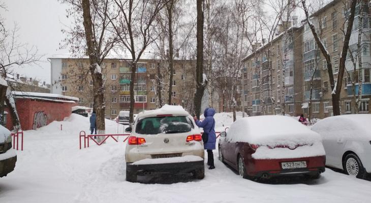 На Ярославль надвигается метель: экстренное предупреждение МЧС