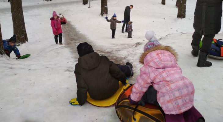 После ЧП с детьми в Ярославле закрыли снежные горки