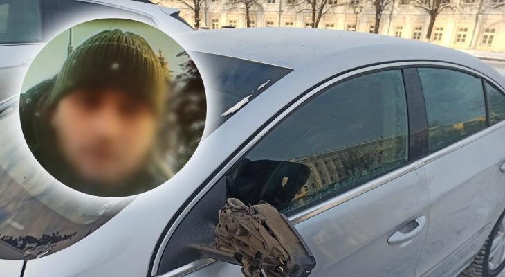 """""""Начался какой-то ад"""": в Ярославле водитель разбил зеркало ногой подрезавшему авто"""