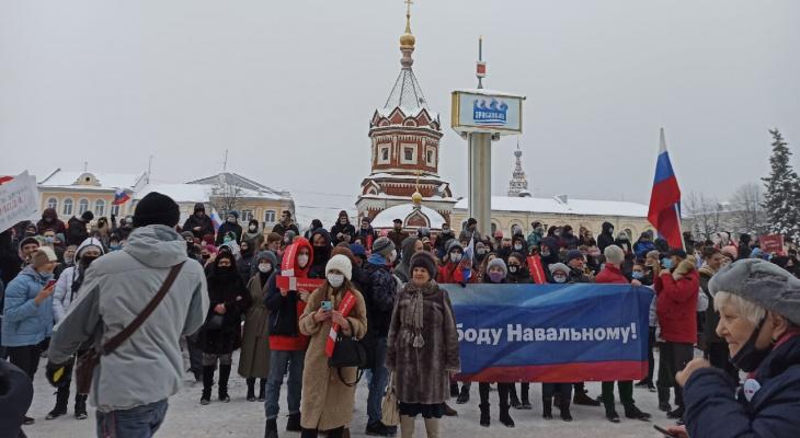 Наказывают работой: в Ярославле начали судить за протесты 23 января