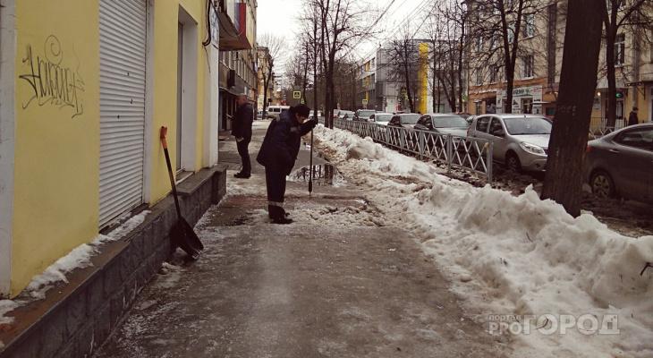 Мэрия Ярославля обвинила «подснежники» в бардаке на дорогах