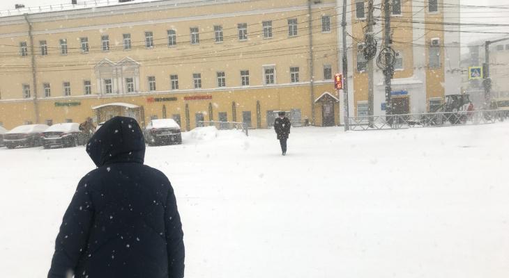 Сильный снегопад накроет Ярославль: как долго продлится