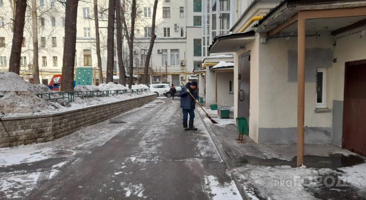 «Мы донатим Москву»: снегоуборочную технику с ярославскими номерами видели в столице