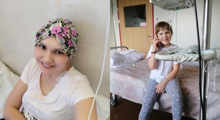 """""""Кричала на всю больницу"""": победившая рак мама спасает от болезни 10-летнюю дочь"""