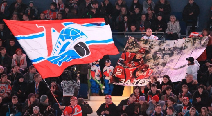 Клюшку погибшего ярославского хоккеиста «Локомотива» выставили на продажу