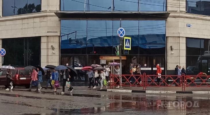 Выпадет треть нормы: грозовой вал и шторм движутся на Ярославль