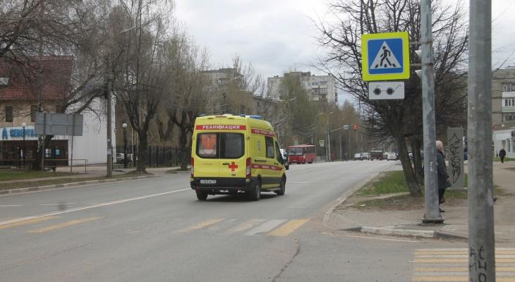 Стонала от боли: в Ярославле сбили женщину.