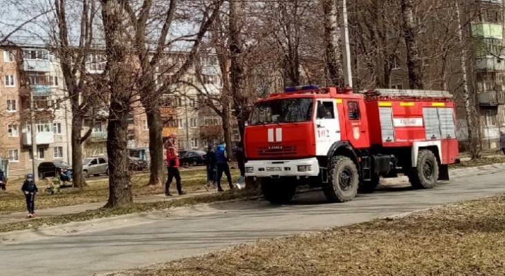 К вокзалу подъехали пожарные машины: что случилось